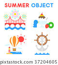 Set of Summer object 027 37204605