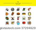 图标 食物 食品 37204620