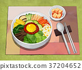 Korean food illustration 001 37204652