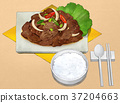 Korean food illustration 002 37204663