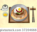 Korean food illustration 003 37204666