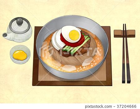 Korean food illustration 003 37204666