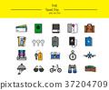 line icon set 015 37204709