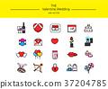 line icon set 014 37204785