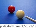 RF photo - object of billiards, cue, billiards balls 149 37205123