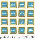 Transportation icons azure 37206692