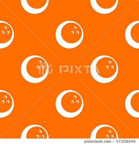 Marbled bowling ball pattern seamless 37208049