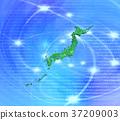 日本地圖 數碼地 數碼 37209003