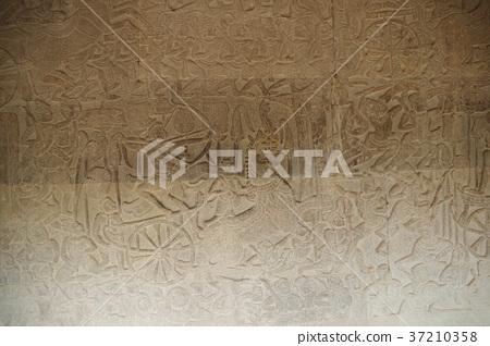 Cambodia Angkor Wat mural 37210358