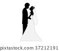 矢量 婚禮 結婚 37212191