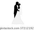 矢量 婚禮 新娘 37212192