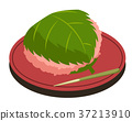 樱花年糕 和果子 日本糖果 37213910