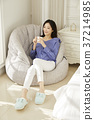 젊은여자,생활,한국인 37214985