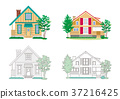 房子的插圖 37216425
