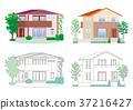 房子的插圖 37216427