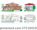 房子的插圖 37216429