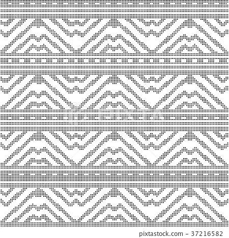 Half tone seamless retro pattern background 37216582