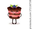 蛋糕 矢量 矢量图 37218738