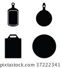 kitchen cutting icon set 37222341