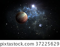 Exoplanets or Extrasolar planets with stars 37225629