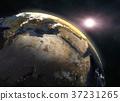 sun, earth, planet 37231265
