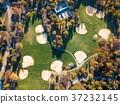 baseball, soccer, aerial 37232145