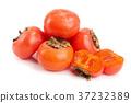 persimmon, fruit, cut 37232389