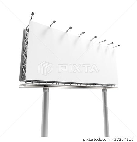 3D rendering billboard 37237119