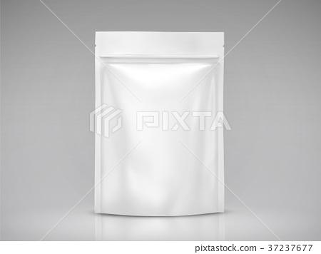 Blank foil bag mockup 37237677