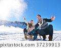 family, snow, winter 37239913