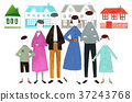 family, own home, one's home 37243768