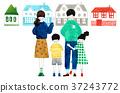 housing, residential, family 37243772