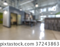 Abstract background of offices interior 37243863