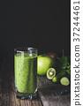 detox, juice, green 37244461