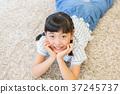 초등학생, 여자아이, 소녀 37245737