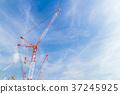 大型施工現場起重機 37245925