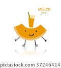 character,cute,melon 37246414