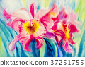 Painting, flower, flowers 37251755