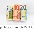 Five, ten and twenty euro 37253132