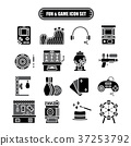 Fun and Game Icon Set 37253792