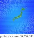 日本地圖 日本列島 互連 37254681