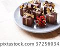 小礼物 礼盒包装 深棕色 37256034