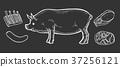 cut, eat, ham 37256121