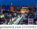 《Tokyo》 Sensoji Temple/Asakusa crowded with Hatsumode 37256492