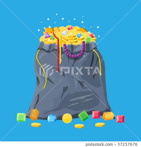 Treasures in bag 37257676
