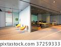 办公室 室内装饰 时尚 37259333