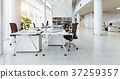 modern office building interior. 37259357