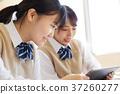 교육, 태블릿, 공부 37260277