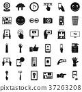 觸摸 屏幕 ICON 37263208