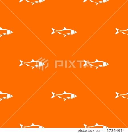 Fish pattern seamless 37264954